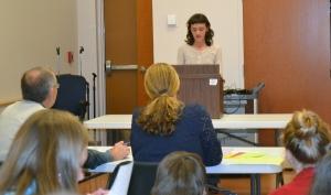 Ashley public speaking