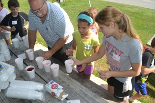4-H Camp Traditions - Snowballs