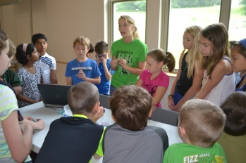 4-H STEM Camp Leader