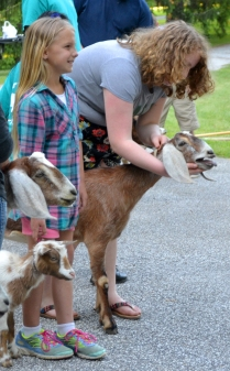 Our 4-H'ers care very deeply for animals.
