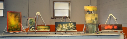 Reproductions of George Washington Carver's artwork.