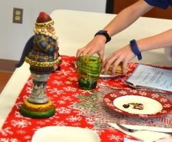 setting up christmas